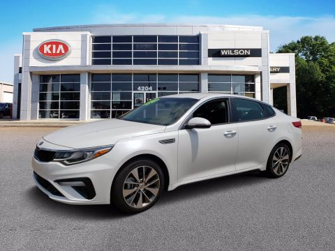 New 2019 Kia Optima S FWD 4dr Car